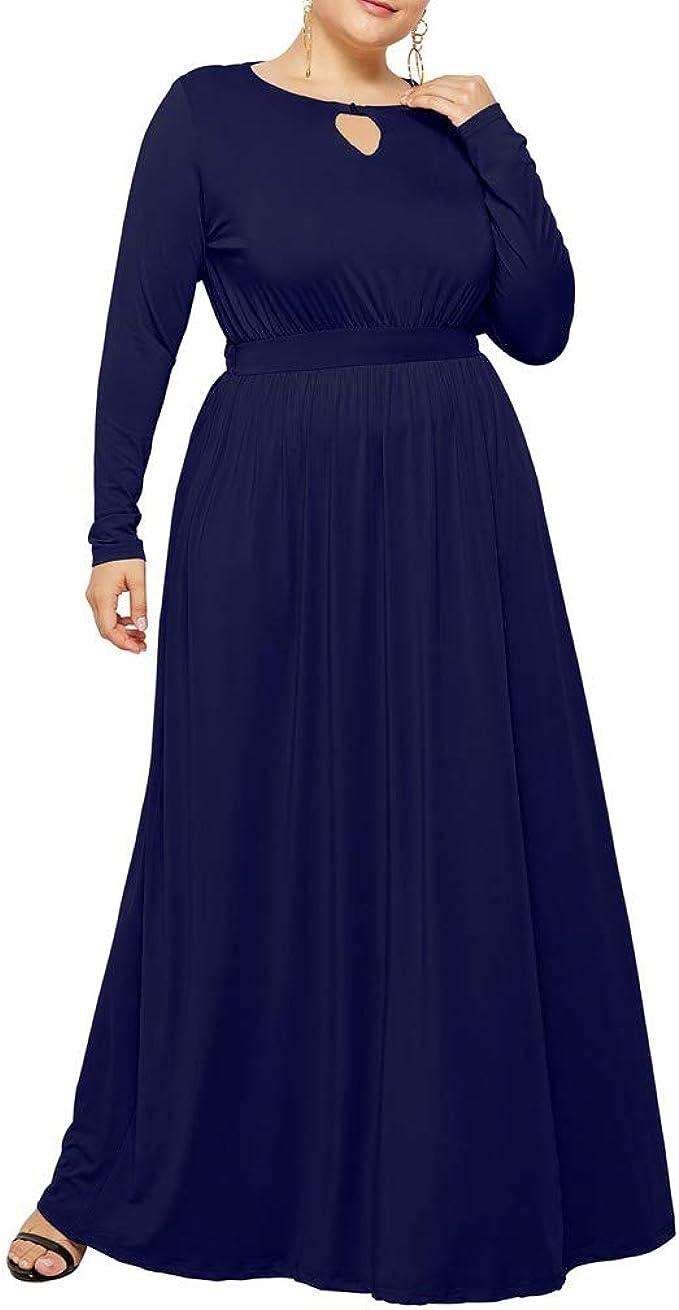 Damen Hüfte Großes Kleid,Pottoa Frauen Sexy Mode Kleider