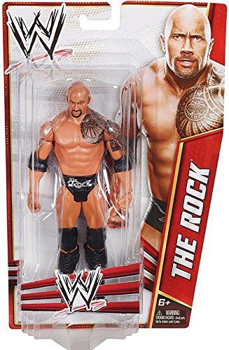 WWE Classics Signature Series The Rock Action