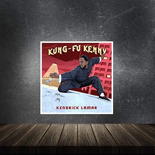 Kendrick Lamar Kung Fu Kenny Poster Print Decor Gift