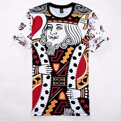 King Poker 3d T Shirt Playing Card Printed Clothes For Unisex Size S Price In Uae Amazon Uae Kanbkam