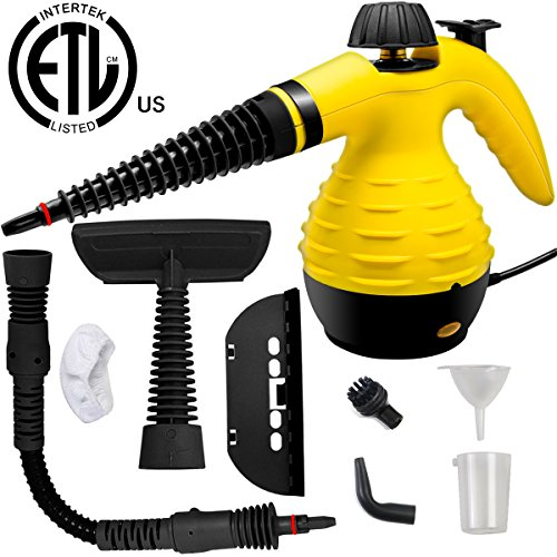 Steam Gun - LOVIN PRODUCT Handheld Steam Cleaner, HIGH-PRESSURE Chemical Free Steamer; ALL IN ONE; ETL LISTED; Removing Grease, Stains, Mold and more for Home, Auto, Patio