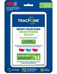 TracFone Bring Your Own Phone SIM Activation Kit (Triple Punc...