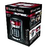 Russell-Hobbs-Retro-21700-56-Macchina-del-Caffe-1000-Watt-125-Litri-Acciaio-Inossidabile-Rosso