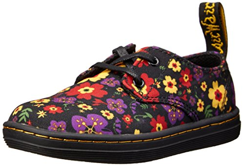 Dr. Martens Girl's Kacy Lace Up Oxfords,Black,8 M UK / 9 M US Little -