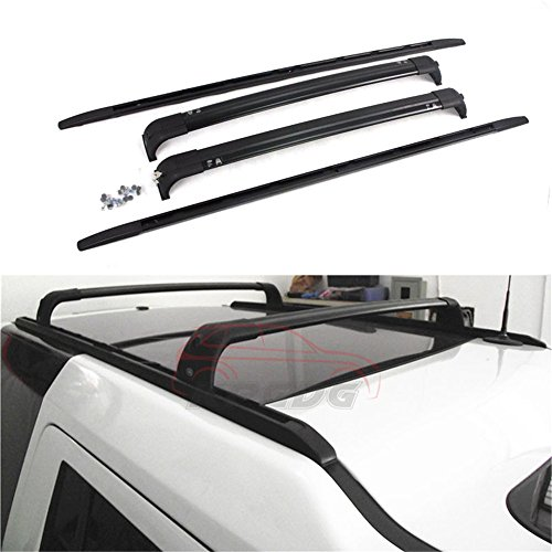Fit for Land Rover Discovery 4 LR4 2010-2016 4 Pcs Aluminium Roof Rail Roof Rack Cross Bars Crossbar