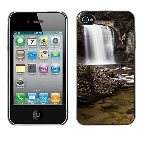 Premio Sottile Slim Cassa Custodia Case Cover Shell // F00008140 cascade // Apple iPhone 4 4S 4G