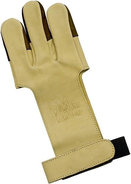 Brown Medium OMP Mountain Man Leather Shooting Glove