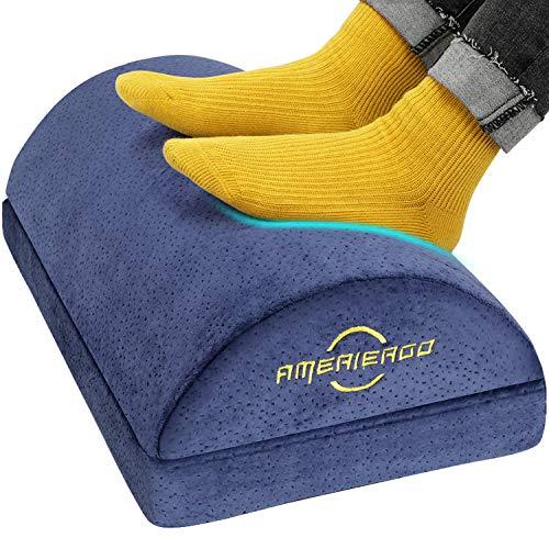 Ameriergo Adjustable Foot Rest (Blue)