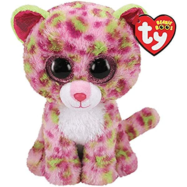 Alaska Stuffed Animals, Amazon Com Ty Uk Ltd 36312 Lainey Leopard Beanie Boos Plush Toy Multicoloured 15cm Toys Games