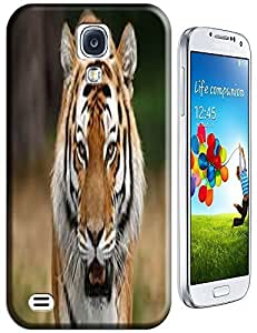 Tiger Case Cover Hard Back Cases Beautiful Nice Cute Animal hot selling cell phone cases for Samsung Galaxy S4 i9500 # 14