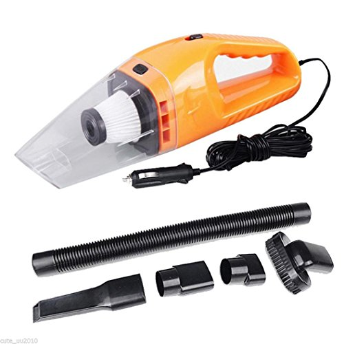 AMAZZANG-Car Portable Super Cyclone Handheld Vacuum Cleaner Cyclonic Dust Buster 12V 120W (as picture)