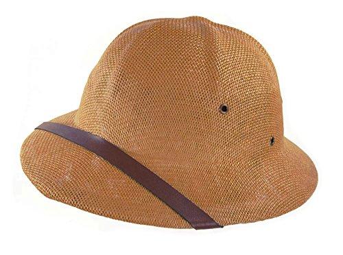 Unisex Adult Safari Pith Helmet (Clay Brown)
