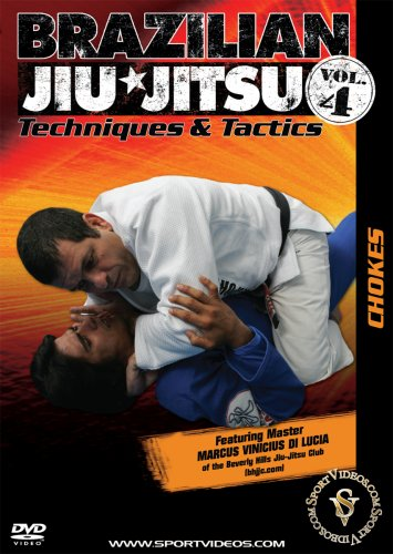 Brazilian Jiu-Jitsu Techniques and Tactics - Vol. 4: Chokes DVD featuring Marcus Vinicius Di Lucia