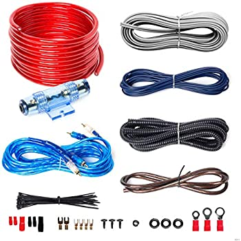 boss audio kit2 8 gauge amplifier installation wiring kit - a car amplifier  wiring kit helps