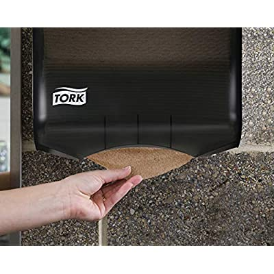 Tork Universal Multifold Paper Towel H2, Disposable Hand Towel MK520A, 100% Recycled Fibers, 1-Ply, Natural - 16 x 250 Sheets: Industrial & Scientific