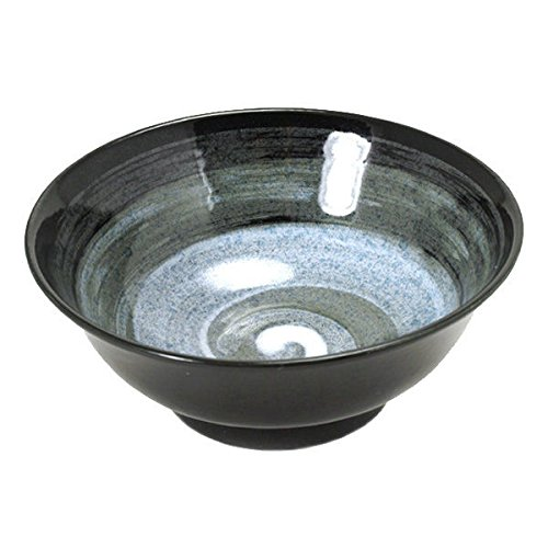Japanese 8.25'' Diameter Fu-Un Ceramic Donburi Ramen Noodle Udon Rice Bowl by Yokohama Gifts