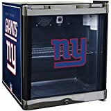 Glaros Officially Licensed NFL Beverage Center / Refrigerator - New York Giants