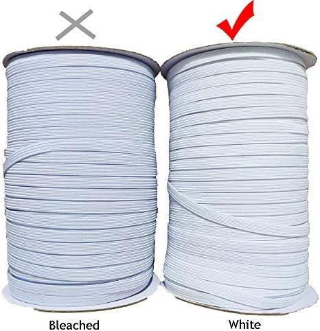 Manualidades Cuerda Goma El/ástica Costura DIY 2m por Color, 28 Metros Ropa /Único Matsa Pack 14 Cordones Mascarillas Bricolaje Multicolor Banda Plana 6mm