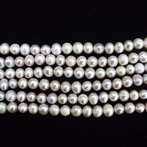/9/mm Off redondo morado perlas de agua dulce perla cultivada 15/pulgadas 38/cm joyas haciendo collar curaci/ón thetastejewelry 8/
