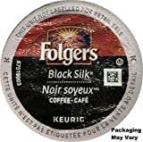 Folgers Coffee, Black Silk, K-Cups for Keurig Brewing Systems (96 count) - Packaging May Vary