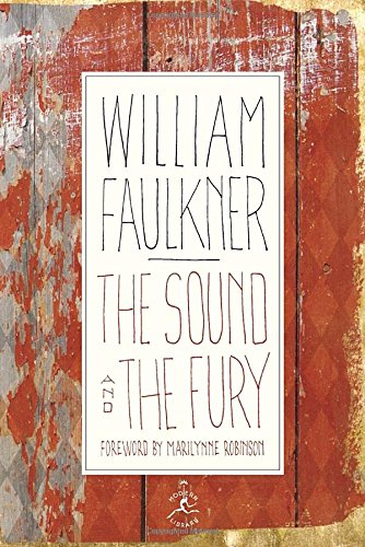 Book cover for The Sound and the Fury