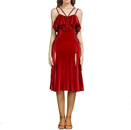 Disfraz de Baile para Mujer con Flecos y borlas para Baile Samba ...