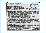 Cameron sino 1400mAh Li-ion Rechargeable Battery 360136-001 364401-001 367205-001 Replacement For HP iPAQ hx2000 hx2100 hx2400 rx3000 rx3100 rx3115 rx3400 PDA