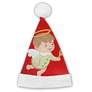 amazon com hfaw angle baby christmas hat santa hat elf hat