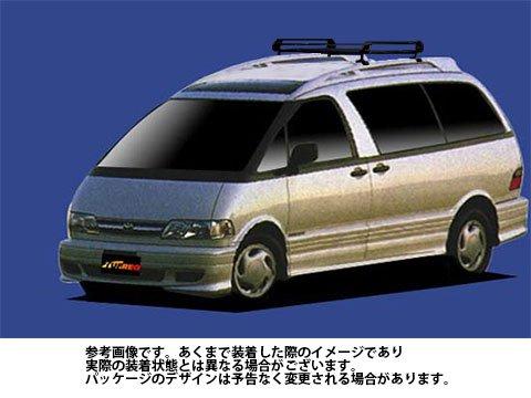 ルーフキャリア PR42 エスティマ / CXR10G CXR20G Pシリーズ タフレック TUFREQ 精興工業 B06XZNCBTG Parent