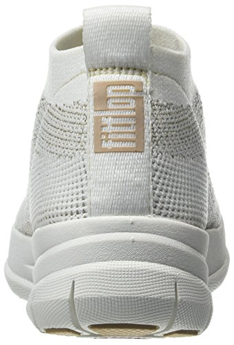 Gold Sneaker a Uberknit Collo Slip on 566 Top Donna Alto White Fitflop Urban Metallic Multicolore High SpXaqd7