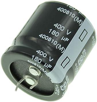 2x Snap In Elko Kondensator 180µf 400v 105 C Elektronik