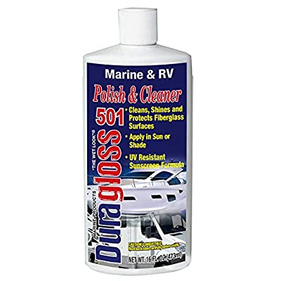 Duragloss 501 Marine/RV Polish and Cleaner, 16-Ounce, 16 oz, 1 Pack: Automotive