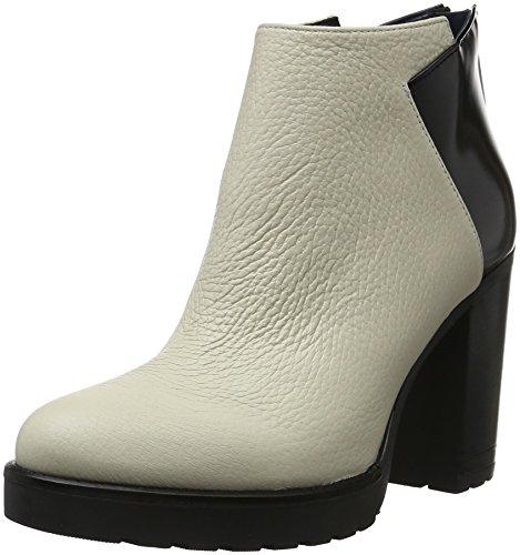 Pollini Shoes SA2110, Scarpe con Tacco Donna Bianco (Avory 00b)