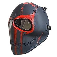 Invader King ™ RAGE Airsoft Mask Protective Gear Outdoor Sport Masks Bb Gun