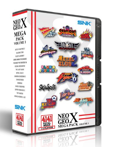 NEOGEO X Mega Pack Vol 1 (Garou Mark Of The Wolves Best Version)