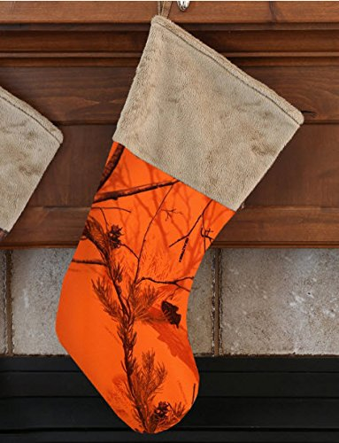 Buy Carstens Realtree Orange Blaze Christmas Stocking Online At Low Prices In India Amazon In