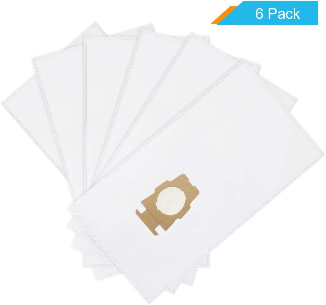 LANMU Dust Vacuum Bags Compatible with Kirby Sentria,Avalir,Avalir 2 and Ultimate G Series,Replacement Part No.204811 Universal Vacuum Bags (6 Pack)