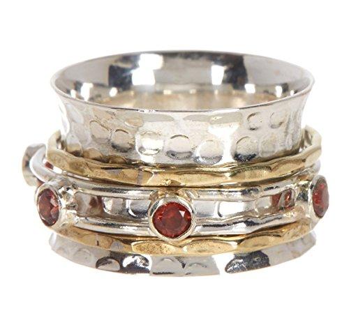 garnet rings for women - 6