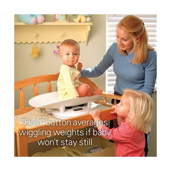 Health o Meter Grow with Me 2 in 1 Baby to Toddler Scale with Growth Chart Book 5