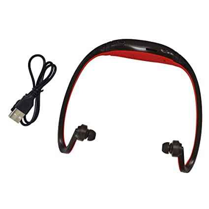 Shanglite Sport S9 Bluetooth Earphone Plus SD Card Slot Auriculares Headphones Neckband Headset for iPhone Huawei