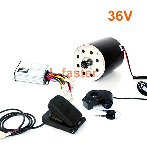 36v48v 500ワット電動高速モーターキット電動スクーターunitemotor変換キットe300s mx350交換モーターアップグレードセット [並行輸入品] B07DQNB7QX 36V pedal kit 36V pedal kit