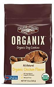 Castor & Pollux Organix Chicken Flavored Dog Cookies