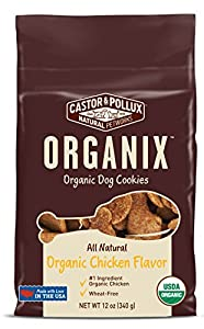 America's #1 organic dog food brand, Organix, is the only complete line of USDA organically certified dog food. All Organix recipes are made with organic, free-range chicken or turkey as the #1 ingredient. There are no chemical pesticides, synthetic ...