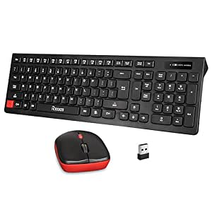 wireless keyboard and mouse combo reccazr wc500 office 2 4ghz wireless usb mouse. Black Bedroom Furniture Sets. Home Design Ideas