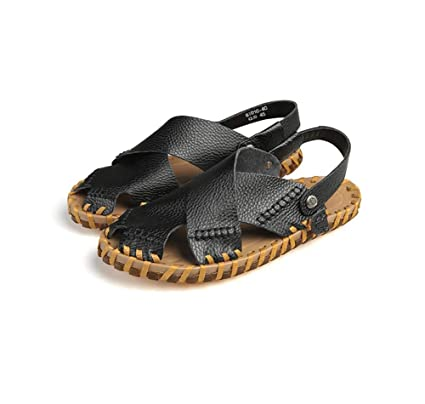 28bd50dd46aeb Amazon.com : GHFJDO Men Closed-Toe Sandals, Outdoor Hiking Trekking ...