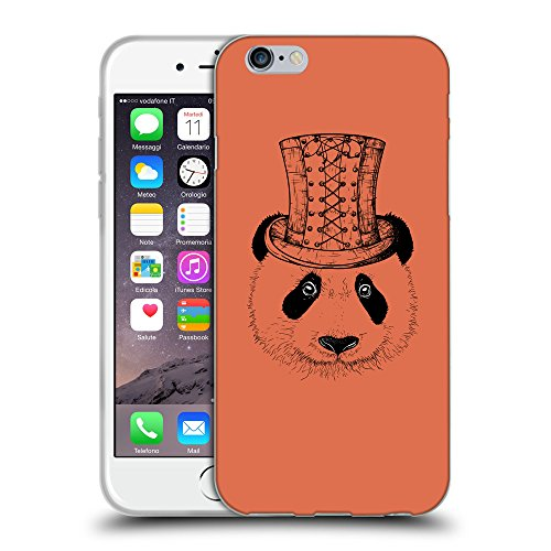 GoGoMobile Coque de Protection TPU Silicone Case pour // Q08350620 Chapeau panada Sienne brûlée // Apple iPhone 6 4.7""