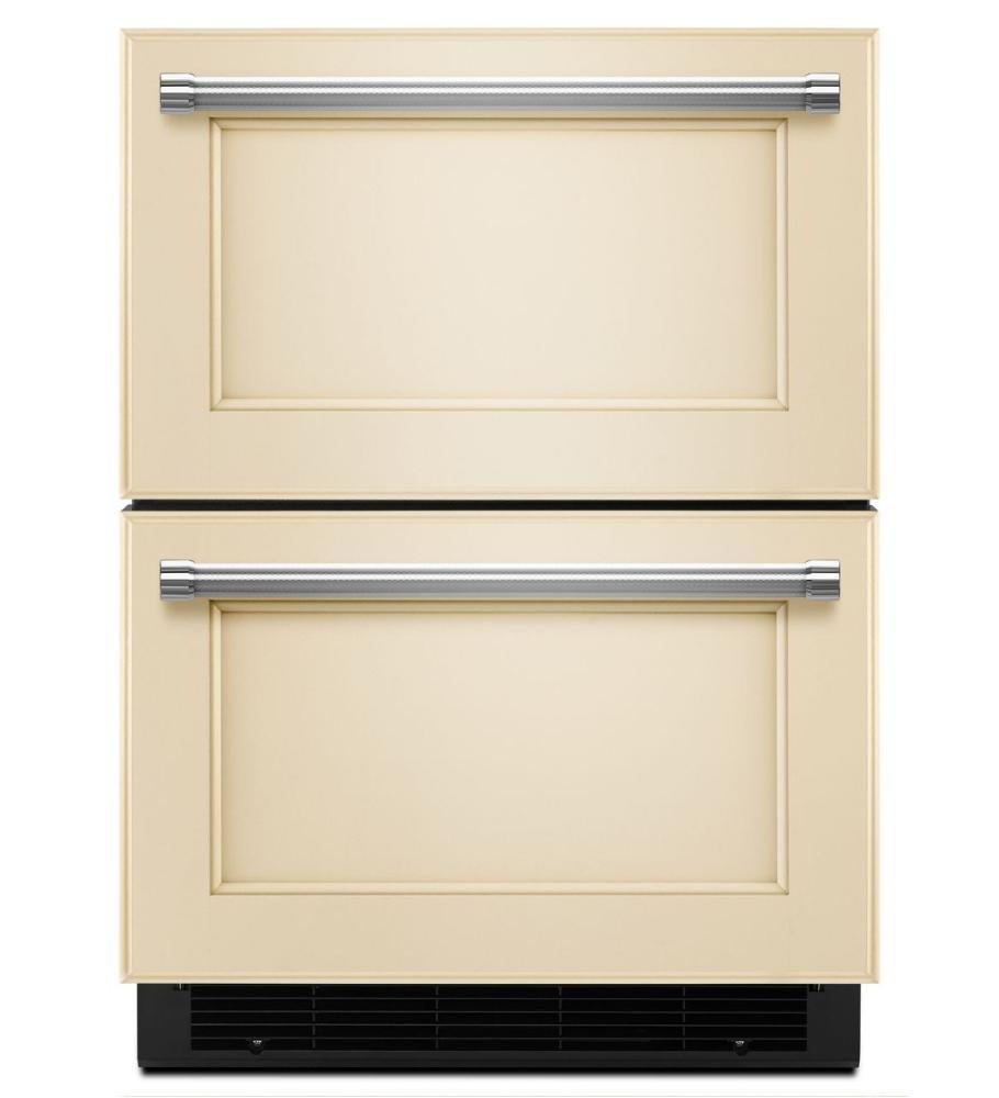 "Panel Ready Kitchenaid 24"" Panel Ready Refrigerator/freezer Drawer"