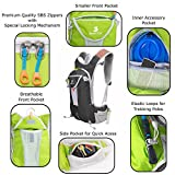 Hydration Backpack with 2l Water Bladder Reservoir +...