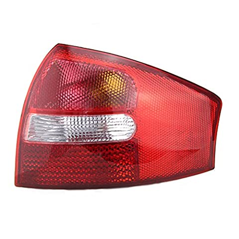 Runmade Clear Red Rear Tail Light Right Brake Housing for 1998-2001 Audi A6 C5 - Audi A6 Light