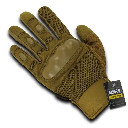 Rapdom Tactical Pro Gloves, Coyote, - Rapids Mall